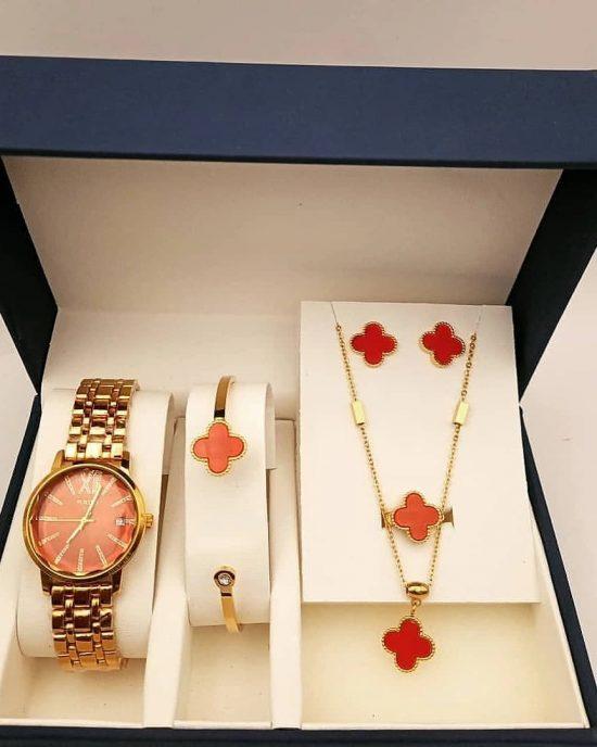 VCA RED watch set